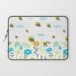 Bee Flaying Laptop Sleeve
