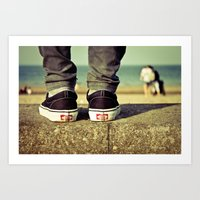 vans Art Prints featuring vans II. by Zsolt Kudar