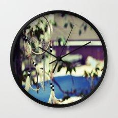 Dreamcatcher Charms Wall Clock
