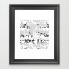 Marbled in onyx Framed Art Print