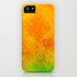 Orange Orchard iPhone Case