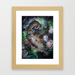 Night Rain Framed Art Print