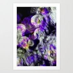 When Ghosts Close In Art Print