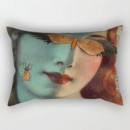 New Woman Rectangular Pillow