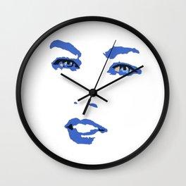 Eye'll See You - Lips And Eyes Wall Clock
