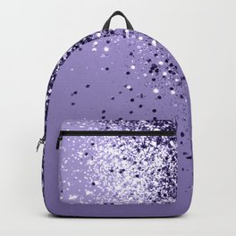 ULTRA VIOLET Glitter Dream #1 #shiny #decor #art #society6 Backpack