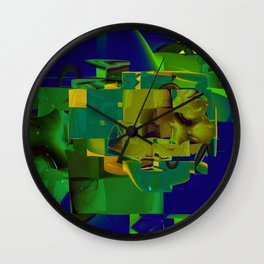 Masters of Industry Wall Clock