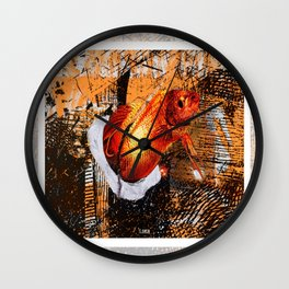 Flashy Fish Wall Clock