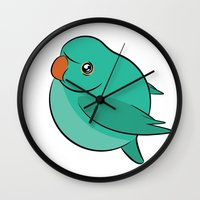 jojo Wall Clocks featuring JoJo by Birbles