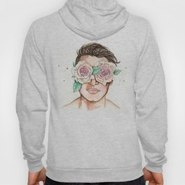 white roses in their eyes Hoody