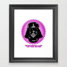 Luke, I am your mother Framed Art Print