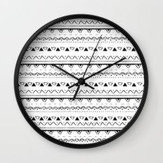 White&Black pattern Wall Clock