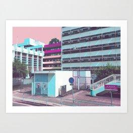 夜間學校 /// Night School Art Print
