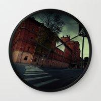 surrealism Wall Clocks featuring surrealism by Chirko.Roman