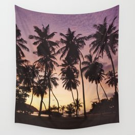 Palm trees on the Seychelles Wall Tapestry