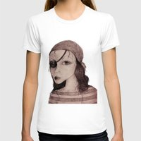pirate T-shirts featuring Pirate by CokecinL
