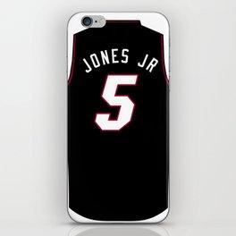 Derrick Jones Jr Jersey iPhone Skin