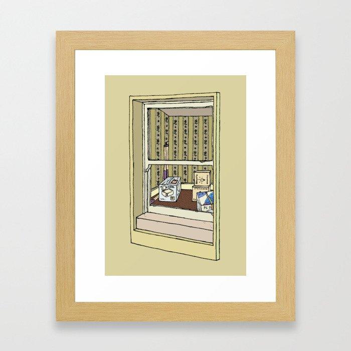 Holborn Attic Framed Art Print