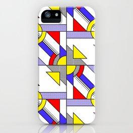 Pop Art Pattern iPhone Case
