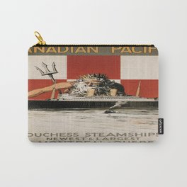 Vintage poster - Canadian Pacific Cruises Carry-All Pouch