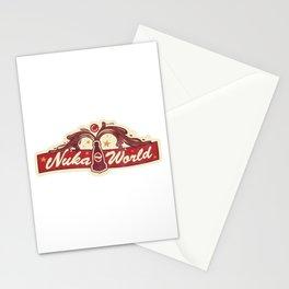 Nuka World Stationery Cards