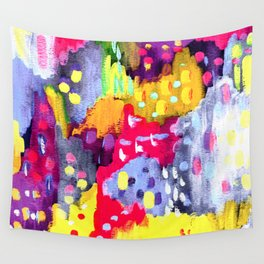 Painted Party Wall Tapestry
