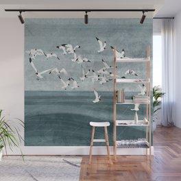 Gulls Wall Mural