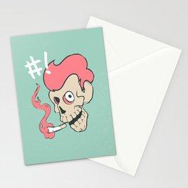 Dang Skull Stationery Cards