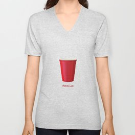 Red Cup Unisex V-Neck
