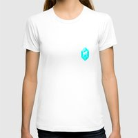 gem T-shirts featuring Gem by MapOfCampus