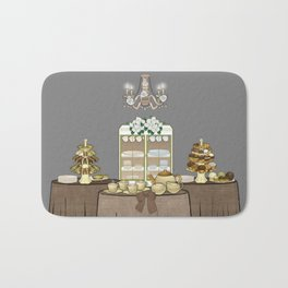 Tea Party Bath Mat