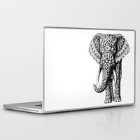 bioworkz Laptop & iPad Skins featuring Navajo Elephant by BIOWORKZ