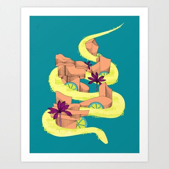 serpencity Art Print