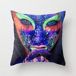 Ultraviolet Throw Pillow