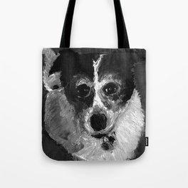 Dot | Border Collie mix  Tote Bag