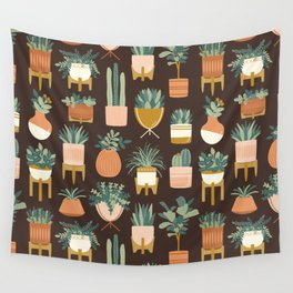 Cacti & Succulents Wall Tapestry