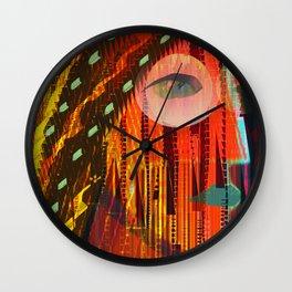 Scientific Researcher 1 Wall Clock