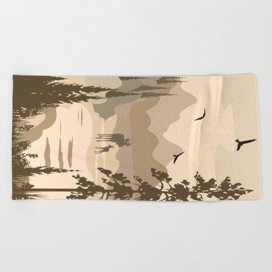 My Nature Collection No. 40 Beach Towel