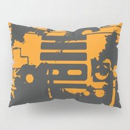 """Control"" - Reversed Pillow Sham"