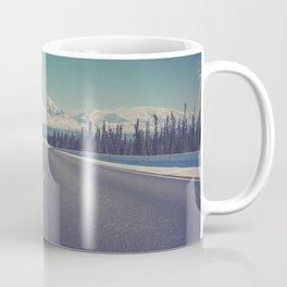 Snow Mountain Road (Color) Coffee Mug