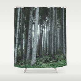 Woodland, Forest, Trees Shower Curtain