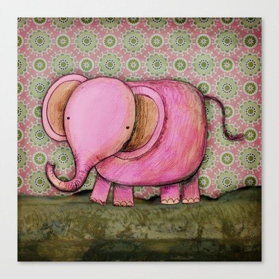 Joe the Elephant Canvas Print