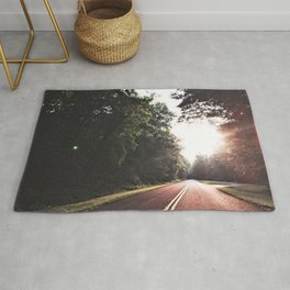 Sunset Drive on the Blue Ridge Parkway Rug