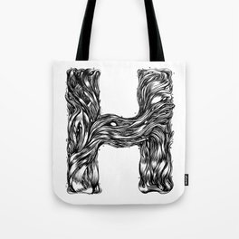 The Illustrated H Tote Bag