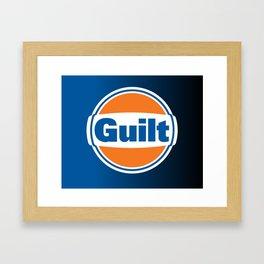 DgM GUILT  Framed Art Print