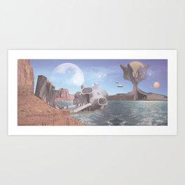 PLANET Kruševo III Art Print