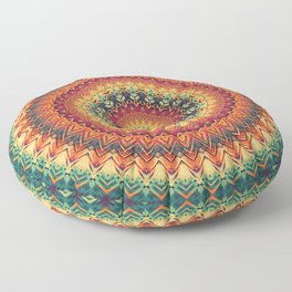 Mandala 254 Floor Pillow
