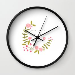 it's all about plants // 1 Wall Clock