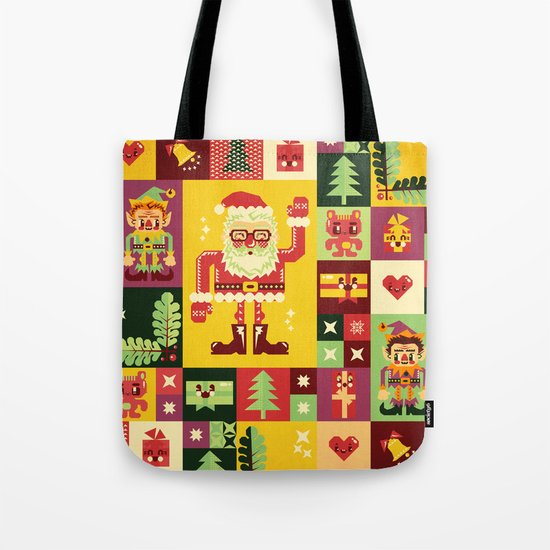 Christmas Geometric Pattern No. 1 Tote Bag