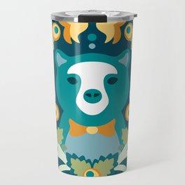Baltimore Woods Bear Travel Mug